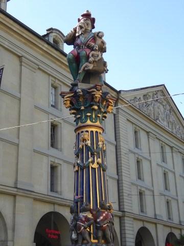 Photo 24: Kindlifresserbrunnen fountain of Bern