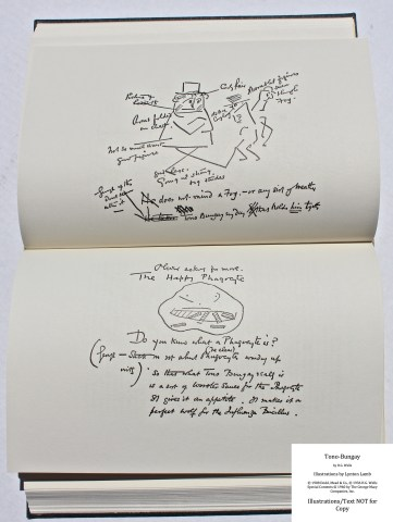 Tono-Bongay, Arion Press, Sample Text #3 (H.G. Wells sketch)