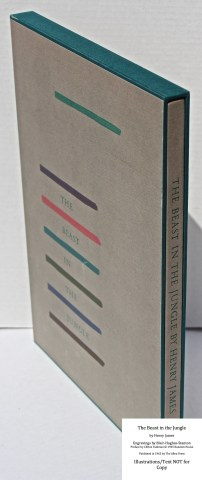 The Beast in the Jungle, Allen Press, Book in Slipcase