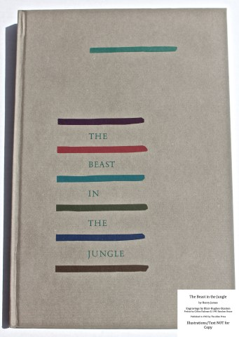 The Beast in the Jungle, Allen Press, Front Cover