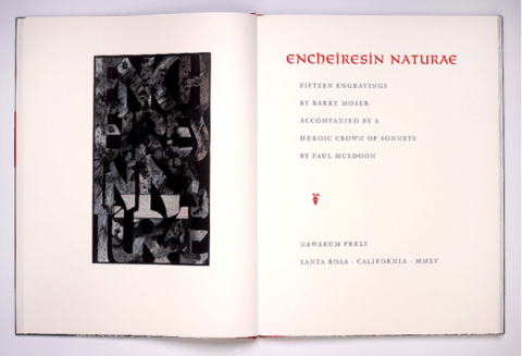 Encheiresin Naturae, Nawakum Press, Cover