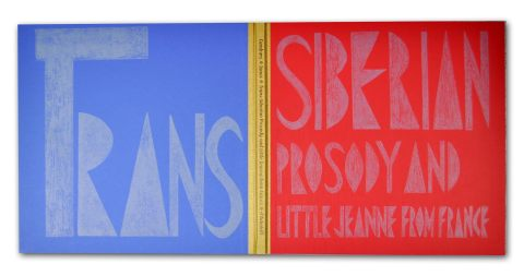 Trans-Siberian Prosody and Little Jeanne from France, Old Stile Press, Cover