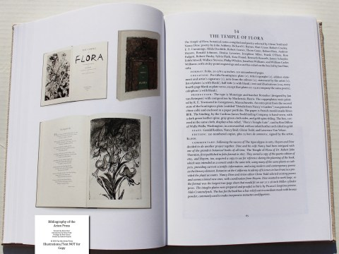 Bibliography of the Arion Press, Arion Press, Sample Book Entry #6