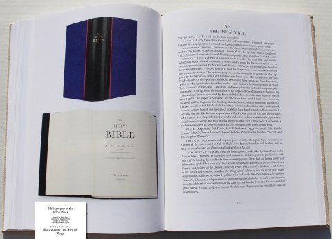 Bibliography of the Arion Press, Arion Press, Sample Book Entry #9