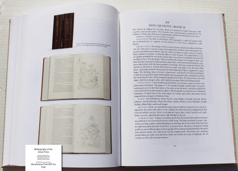 Bibliography of the Arion Press, Arion Press, Sample Book Entry #12