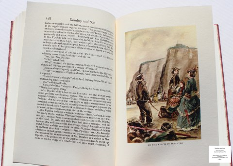 Dombey and Son, Limited Editions Club, Sample Illustration #4 with Text