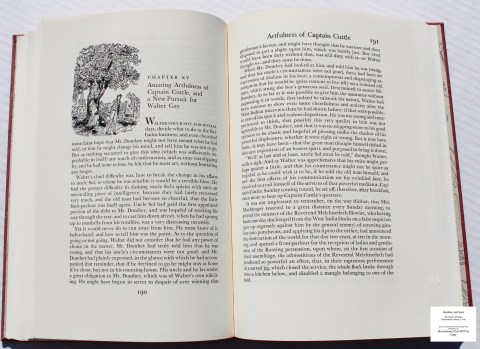 Dombey and Son, Limited Editions Club, Sample Illustration #6 with Text
