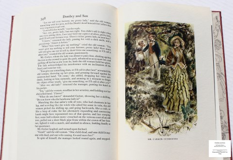 Dombey and Son, Limited Editions Club, Sample Illustration #10 with Text