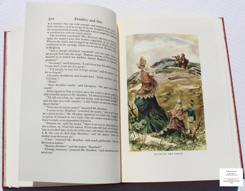 Dombey and Son, Limited Editions Club, Sample Illustration #13 with Text