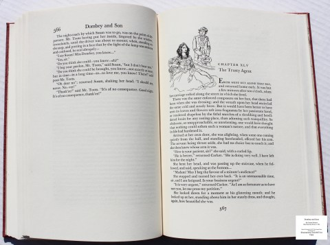 Dombey and Son, Limited Editions Club, Sample Illustration #14 with Text