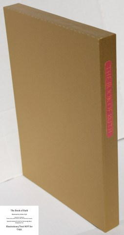 The Book of Ruth, Limited Editions Club, Slipcase Spine (Custom)