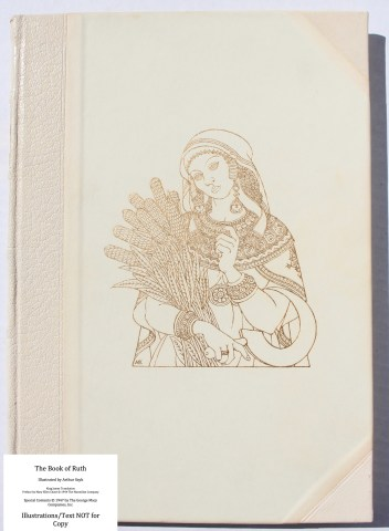 The Book of Ruth, Limited Editions Club, Cover