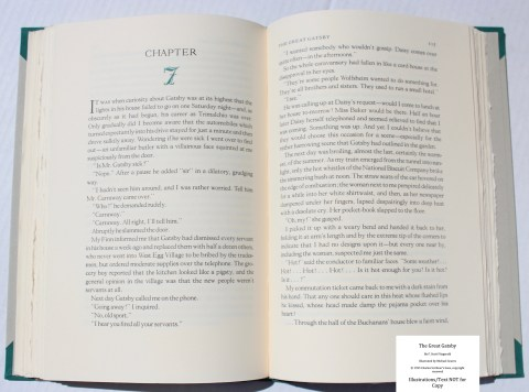 The Great Gatsby, Arion Press, Sample Text #2