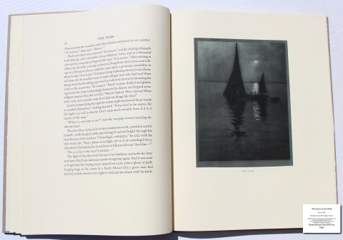 The Door in the Wall, The Folio Society, Sample Illustration #1 with Text