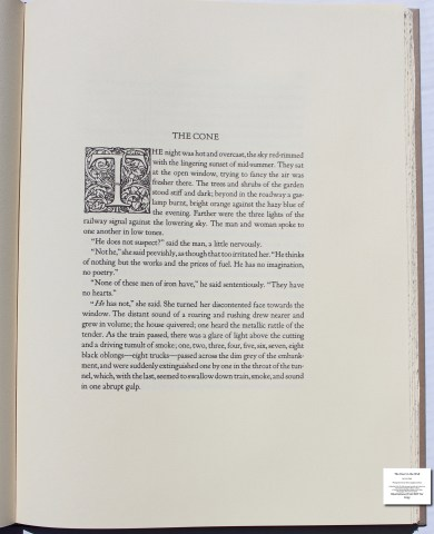 The Door in the Wall, The Folio Society, Sample Text #6