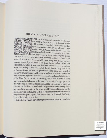 The Door in the Wall, The Folio Society, Sample Text #7