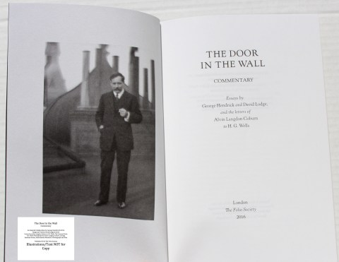 The Door in the Wall, The Folio Society, Companion Volume Frontispiece and Title Page