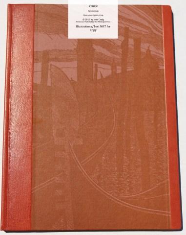 Venice, Whittington Press, 'B' Edition Front Cover