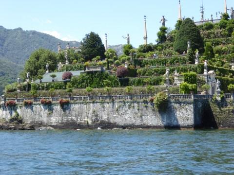 The hanging gardens of Villa Borromeo