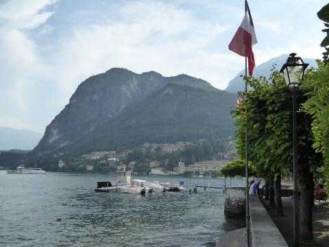 View of Lake Como from Grand Hotel Victoria in Menaggio