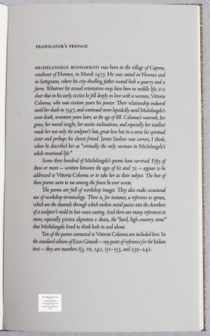 Hard High-Country Poems Peter Koch Printers, Sample Text #1