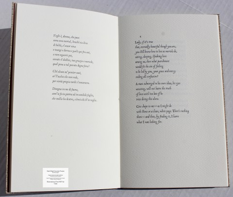 Hard High-Country Poems Peter Koch Printers, Sample Text #2