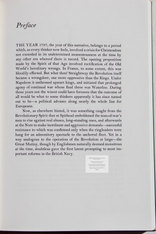 Billy Budd and Beneto Cereno, Limited Editions Club, Sample Text #3