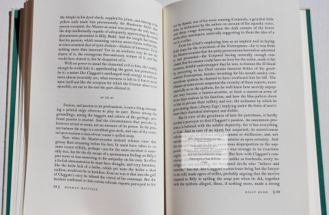 Billy Budd and Beneto Cereno, Limited Editions Club, Sample Text #5