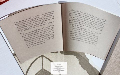 The Snails, Foolscap Press, Sample Text #1