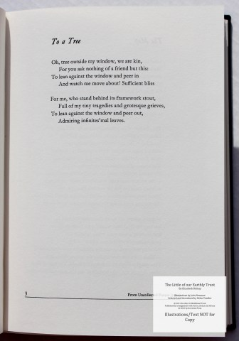 The Little of our Earthly Trust, Arion Press, Sample Text #4
