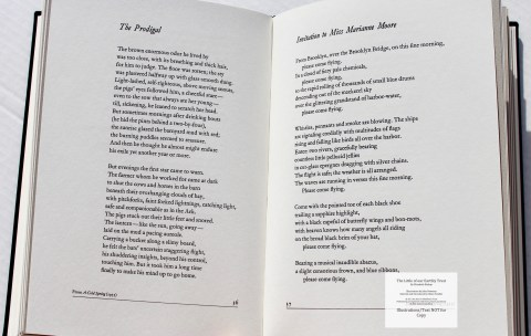 The Little of our Earthly Trust, Arion Press, Macro of Sample Text #5