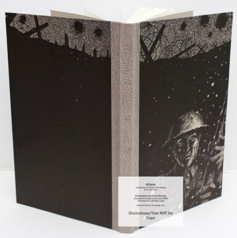 Winter, Salvage Press, Covers and Spine of 'Winter' (Deluxe)