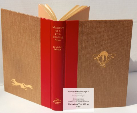 Memoirs of a Fox-hunting Man, Limited Editions Club, Covers and Spine