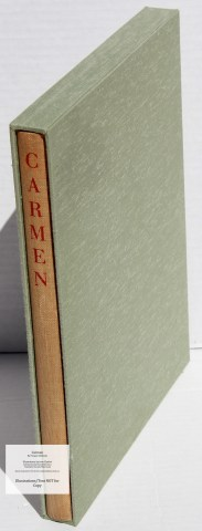 Carmen, Limited Editions Club, Book in Slipcase