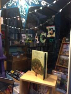 Peace Display   The Homer Bookstore, Homer, AK