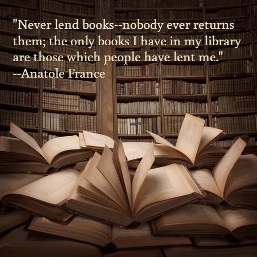 Never Lend Books