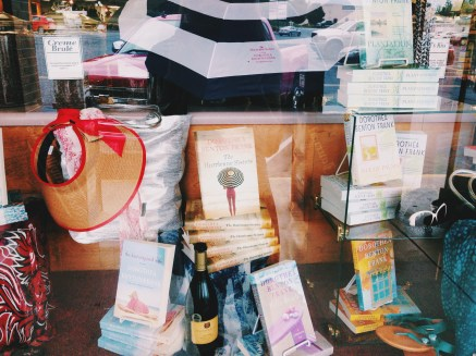 Dottie Frank display | The Booksmith, Seneca, SC
