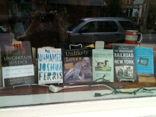 Un- display   Battenkill Books, Cambridge, NY