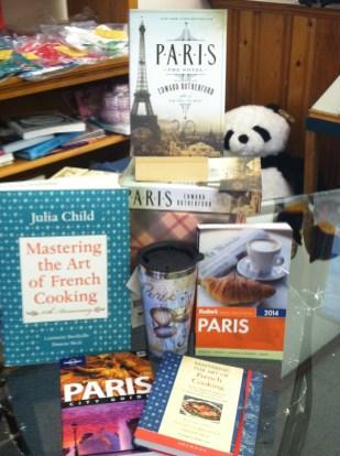 Paris Display | Page After Page, Elizabeth City, NC