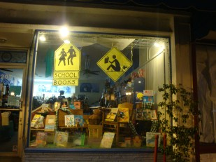 Back to School window | Once Upon a Time in Montrose