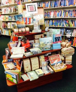 Travel Themed Display  Doylestown Bookshop
