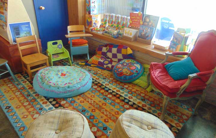 Bluebird Books Storytime Nook