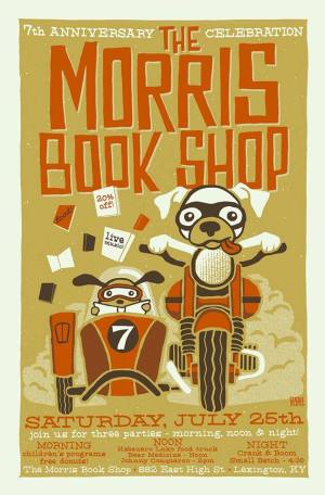 Morris Book Shop poster