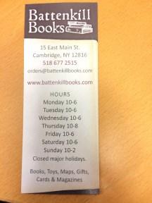 Battenkill Books | Cambridge, NY