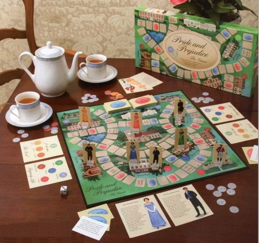 pride and Prejudice board game