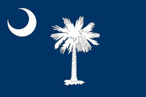 South Carolina State Flag, for Children's Books About South Carolina