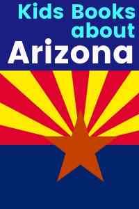 Arizona state flag - Arizona Children's Books - Books about Arizona