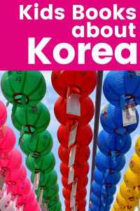 Books about Korea - Korea books for Kids - Korean Culture
