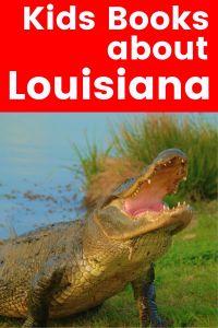 Louisiana children's books - books about Louisiana Animals - kids books about Louisiana - Louisiana animals for kids