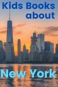 New York books - books about New York - books set in New York - New York books for kids